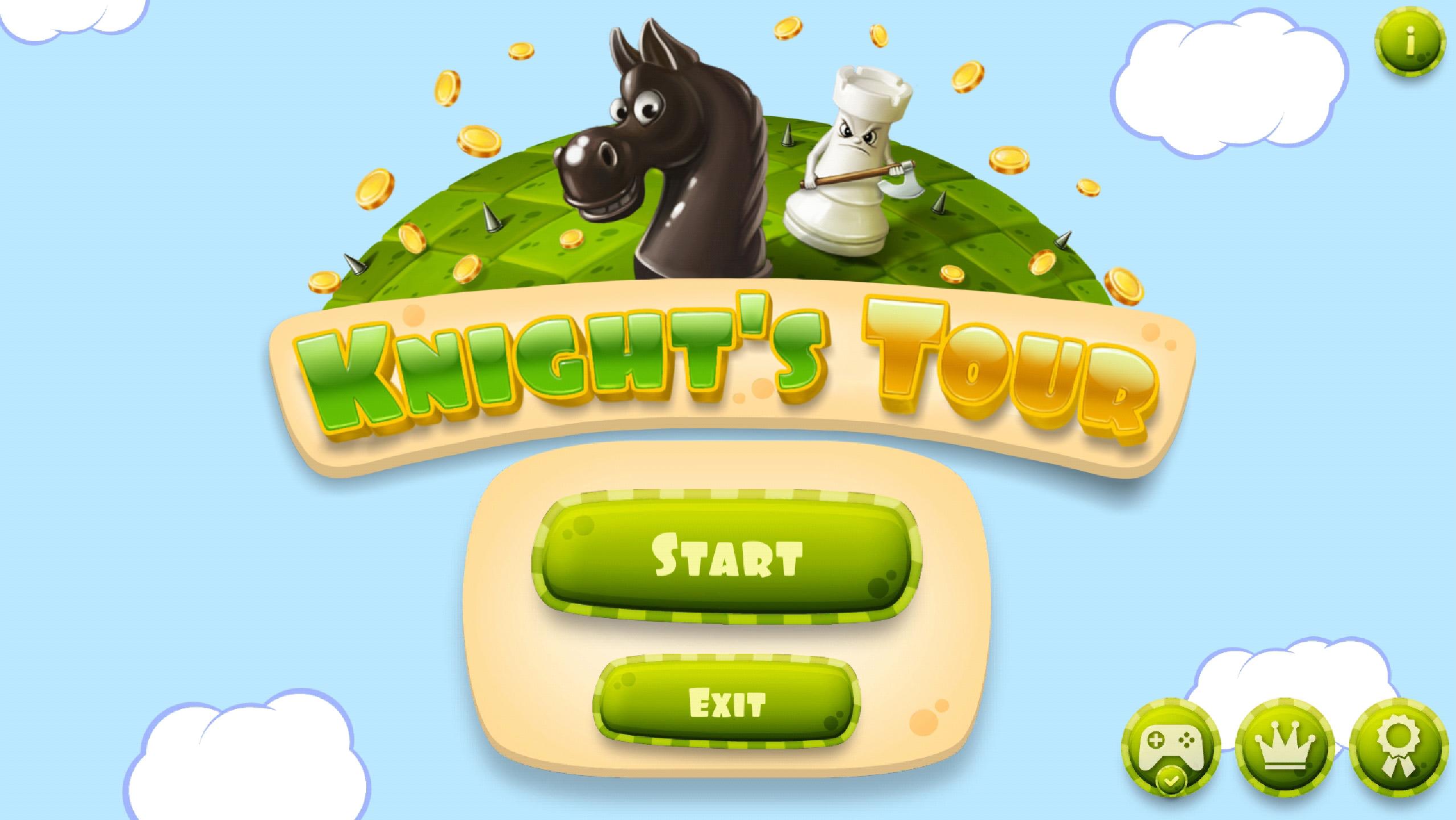 Strona tytułowa gry (screenshot)