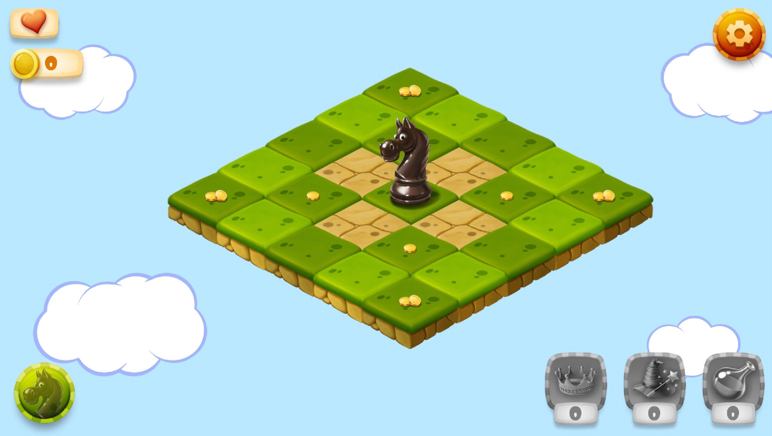 Przykładowy poziom gry (screenshot)