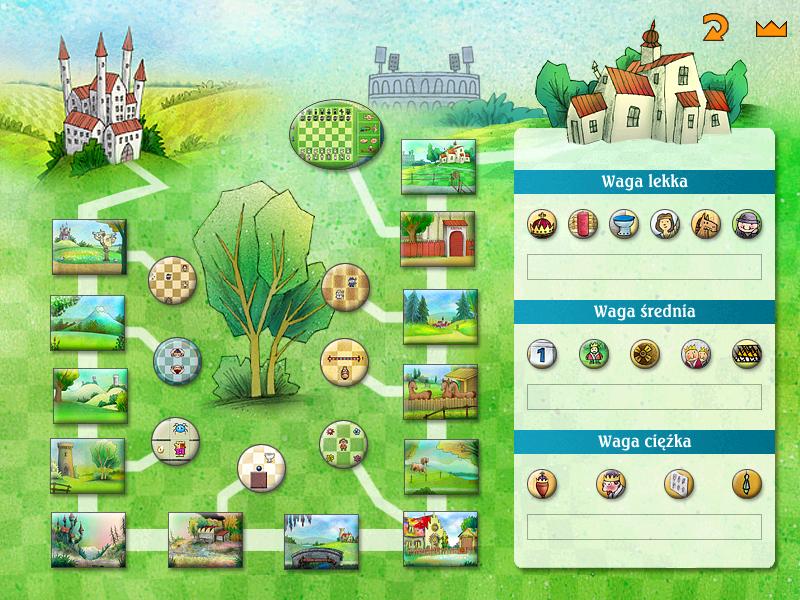 Screenshot menu głównego gry